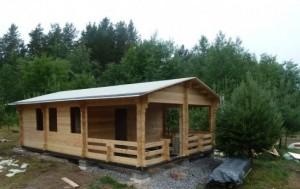 Фундамент садового домика