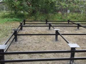 Устройство фундамента на болотистой почве